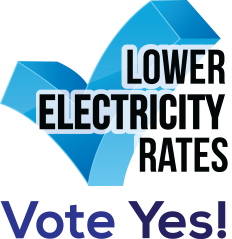 Vote Yes For Lower Electricity and Natural Gas Rates!